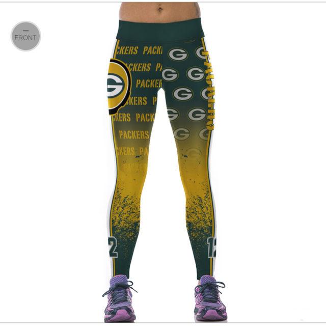 Green Bay Packers 3D Digital Printing Leggings