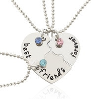 Best Friend Necklaces For 3 | Friendship Necklaces For 3