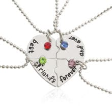 friendship necklaces for 4